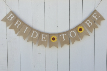 "Bride to Be  ""Sunflowers"""