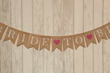"Bride to Be ""Hearts"""