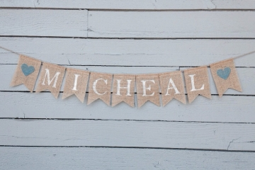 "Baby Name Banner ""Personalized"""