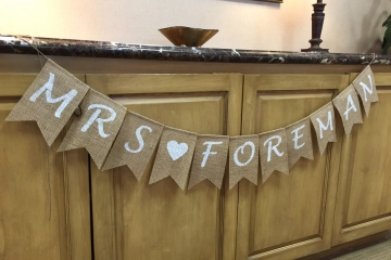 "Personalized Mrs Banner ""Contemporary"""