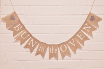 Bun in the Oven Banner