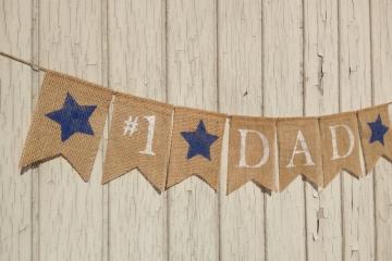 #1 DAD Banner
