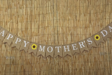 "Happy Mother's Day Banner ""Sunflowers"""